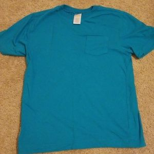 Boy's Gymboree T shirt with pocket blue size 7